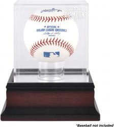 San Francisco Giants 2014 World Series Champions Mahogany Baseball Display Case