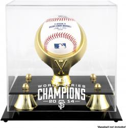 San Francsico Giants 2014 World Series Champions Golden Classic Baseball Display Case
