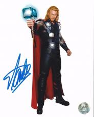 San Lee Signed Thor 8x10 Photo *Marvel Stan Lee Holo