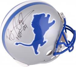 Detroit Lions Barry Sanders Autographed 2004 Hall of Fame Helmet