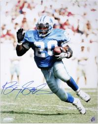 Barry Sanders Detroit Lions Autographed 16'' x 20'' Cutting Photograph