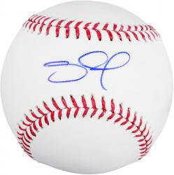 Pablo Sandoval San Francisco Giants Autographed Baseball - - Mounted Memories