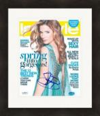 Sandra Bullock autographed 8x10 Photo (JSA) magazine cover photo Matted & Framed