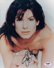 Sandra Bullock Autographed Signed 8x10 Photograph (PSA) RARE FULL NAME!!
