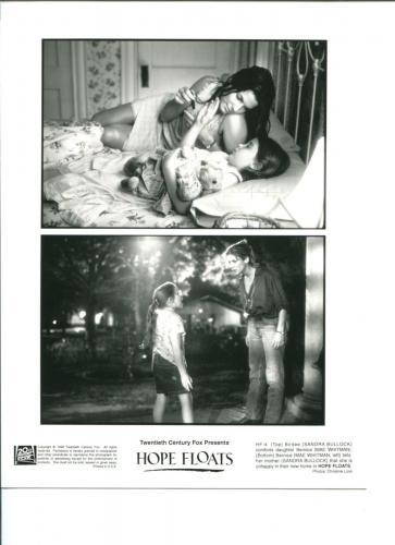 Sandra Bullock Mae Whitman Hope Floats Original Press Still Movie Photo