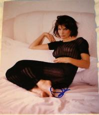 Sandra Bullock Signed Autograph Very Seductive Hot See Through Shirt Photo Coa