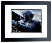 Sandra Bullock Signed - Autographed GRAVITY 8x10 inch Photo - Guaranteed to pass PSA/DNA or JSA - BLACK CUSTOM FRAME