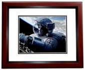 Sandra Bullock Signed - Autographed GRAVITY 8x10 inch Photo - Guaranteed to pass PSA/DNA or JSA - MAHOGANY CUSTOM FRAME
