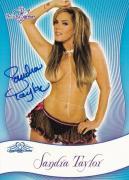 Sandra Taylor Signed 2010 BenchWarmer Signature Series Card 64 Playboy Autograph