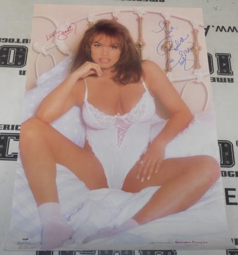 Sandra Taylor Signed 22x33 Poster PSA/DNA COA 1993 Sandi Korn Penthouse Playboy