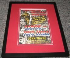 Sands of Iwo Jima Framed 8x10 Photo Poster John Wayne John Agar Forrest Tucker
