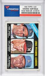 Sandy Koufax/Don Drysdale Los Angeles Dodgers 1966 Topps #223 Card