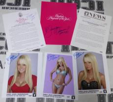 Sara Jean Underwood 6 Signed 2007 Playboy Playmate of the Year Press Kit PSA/DNA