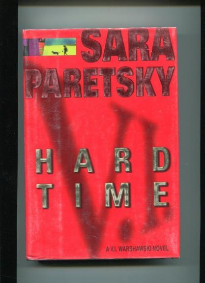 Sara Paretsky Hard Time Signed Autograph 1st Edition Book COA