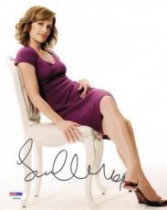 Sarah Clarke SIGNED 8x10 Photo Nina Meyers 24 Twillight PSA/DNA AUTOGRAPHED
