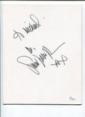 Sarah Jessica Parker Sex and the City Ed Wood Star Sexy Signed Autograph JSA