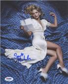 Sarah Michelle Gellar Autographed Signed 8x10 Photo Certified Authentic PSA/DNA-