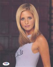 Sarah Michelle Gellar Autographed Signed 8x10 Photo PSA/DNA AFTAL COA