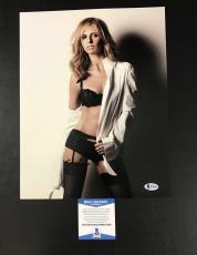 Sarah Michelle Gellar Signed Buffy The Vampire Slayer Photo Bas Coa Beckett 3
