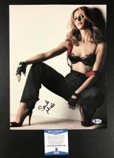 Sarah Michelle Gellar Signed Cruel Intentions 'sexy' Photo Bas Coa Beckett 1