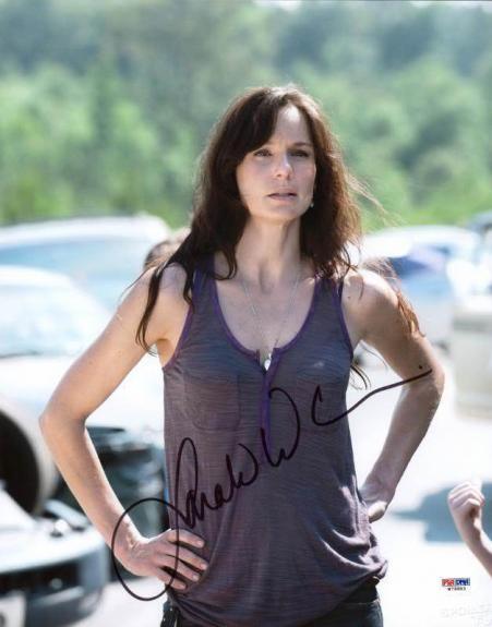 Sarah Wayne Callies Walking Dead Signed 11X14 Photo PSA/DNA #W79883