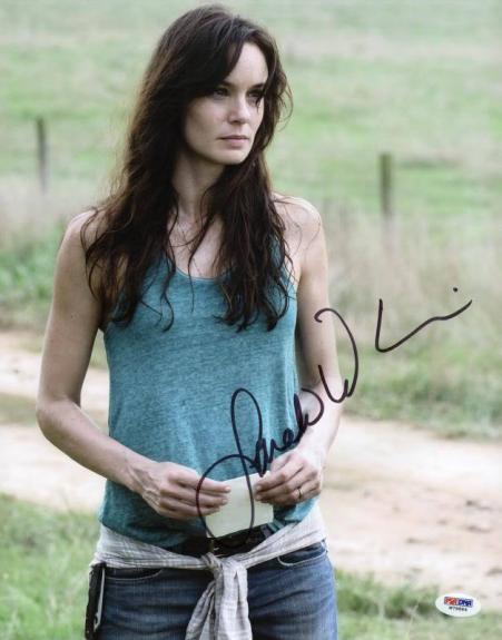 Sarah Wayne Callies Walking Dead Signed 11X14 Photo PSA/DNA #W79884