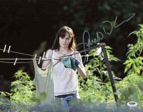 Sarah Wayne Callies Walking Dead Signed 11X14 Photo PSA/DNA #W79885