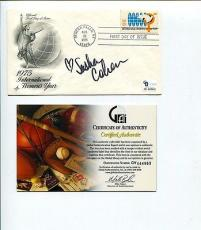 Sasha Cohen 2006 US Olympic Silver Medal Figure Skater Signed Autograph FDC COA