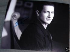 "Sasha Roiz Signed Autograph New ""caprica"" Promo Photo C"