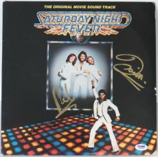 Saturday Night Fever Signed Album Travolta & Robin/Barry Gibb PSA/DNA #S04746