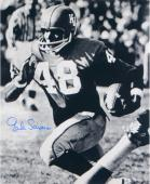 "Gale Sayers Kansas Jayhawks Autographed 16"" x 20"" Ball In One Hand Photograph"