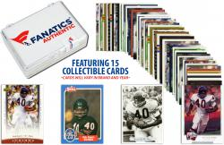 Gale Sayers-Chicago Bears-Collectible Lot of 15 NFL Trading Cards - Mounted Memories