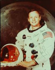 Scarce Neil Armstrong Signed 11x14 Photo (JSA)