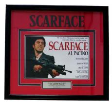 Scarface 26x24 Custom Framed Movie Photo Display Al Pacino
