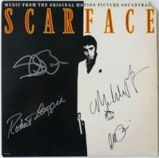 Scarface (4) Multi-Signed Authentic Album Pacino,Loggia,Bauer,Pfeiffer PSA/DNA