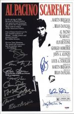 Scarface Cast Signed 11x17 Movie Poster  Al Pacino, Bauer, Loggia, Margolis, Psa