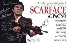 Scarface Cast Signed 11x17 Movie Poster ,al Pacino, Bauer, Loggia, Margolis, Psa