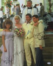 Scarface Cast Signed Auto 16x20 Photo Pacino/Bauer/Pfeiffer/Mastrantonio PSA/DNA