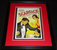Scarface Framed 11x14 Poster Display Official Repro Boris Karloff Paul Muni