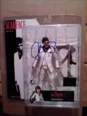 SCARFACE TOY FIGURE signed AL PACINO - say hello to my little friend - MIB