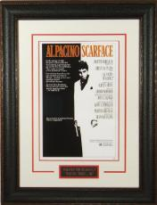 Scarface unsigned 20x28 Masterprint Vintage Poster Leather Framed Al Pacino (entertainment/photo)