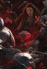 Scarlet Witch Avengers 2 Age of Ultron 2014 Comic-Con SDCC Marvel movie poster