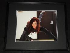 Scarlett Johansson Avengers Black Widow Framed 11x14 Photo Poster