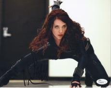Scarlett Johansson Signed 'the Avengers' 8x10 Photo Autograph Jsa Coa