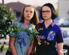 SCARLETT JOHANSSON THORA BIRCH SIGNED AUTOGRAPHED 8x10 PHOTO GHOST WORLD PSA/DNA