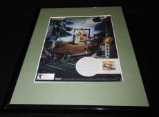 Scene It 2008 XBox Framed 11x14 ORIGINAL Vintage Advertisement