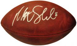 Matt Schaub Oakland Raiders Autographed Football