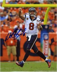 "Matt Schaub Houston Texans Autographed 8"" x 10"" Looking Downfield Photograph"