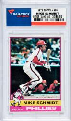 Mike Schmidt Philadelphia Phillies 1976 Topps #480 Card