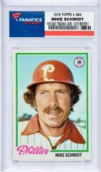 SCHMIDT, MIKE (1978 TOPPS # 360) CARD - Mounted Memories